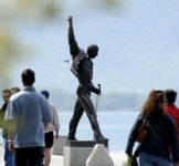 Freddy Mercury Statue in Montreux